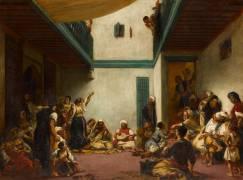 Noce juive au Maroc (Delacroix Eugène) - Muzeo.com