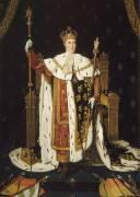 Portrait de Charles X en costume de sacre (Ingres Jean-Auguste-Dominique) - Muzeo.com