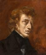 Portrait de Frédéric Chopin (Delacroix Eugène) - Muzeo.com