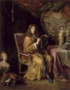 Portrait de l'artiste (Pierre Mignard) - Muzeo.com