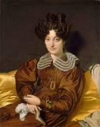 Portrait de madame Marcotte de Sainte Marie (Ingres Jean-Auguste-Dominique) - Muzeo.com