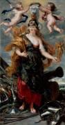 Portrait de Marie de Médicis en Bellone (Pierre Paul Rubens) - Muzeo.com