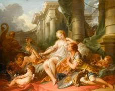 Renaud et Armide (François Boucher) - Muzeo.com