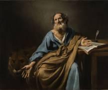 Saint Marc, l'évangéliste (Valentin de Boulogne) - Muzeo.com