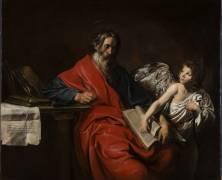 Saint Mathieu, l'Evangéliste (Valentin de Boulogne) - Muzeo.com