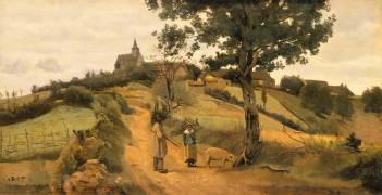 Saint-André-en-Morvan (Nièvre) (Jean-Baptiste Camille Corot) - Muzeo.com