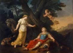 Tancrède secouru par Herminie (Suvée Joseph Benoît) - Muzeo.com