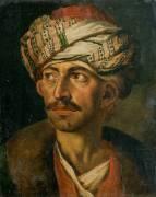 Tête d'oriental (Théodore Géricault) - Muzeo.com