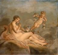 Vénus et l'Amour (François Boucher) - Muzeo.com