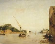 Vue du Nil (Fromentin Eugène) - Muzeo.com