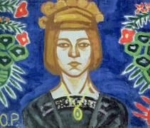 Autoportrait (Olga Rozanova) - Muzeo.com