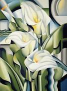 Lys cubistes (Catherine Abel) - Muzeo.com