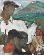 Portrait d'hommes basques (Robert Beat) - Muzeo.com