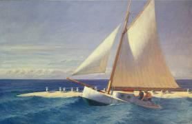 Sailing Boat (Hopper Edward) - Muzeo.com