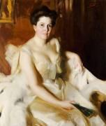 Portrait de Madame de Ver Warner (Zorn Anders Leonard) - Muzeo.com