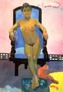 Annah la Javanaise (Paul Gauguin) - Muzeo.com