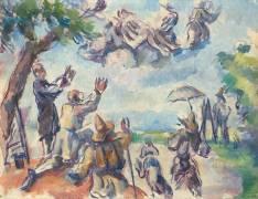 Apothéose de Delacroix (Cézanne Paul) - Muzeo.com