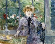Après le Petit-Déjeuner (Berthe Morisot) - Muzeo.com