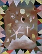 Au dessus des montagnes (Paul Klee) - Muzeo.com