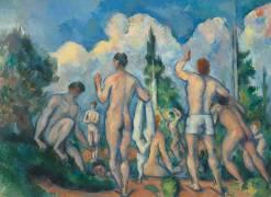 Baigneurs (Cézanne Paul) - Muzeo.com