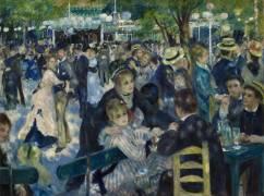 Bal du Moulin de la Galette (Auguste Renoir) - Muzeo.com