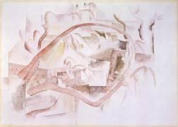 Bermudes - Toits (Charles Demuth) - Muzeo.com