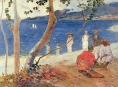 Bord de Mer, Ile de la Martinique (Paul Gauguin) - Muzeo.com