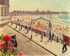 Bord de Mer, les Sables d'Olonne (Albert Marquet) - Muzeo.com