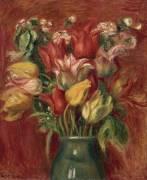 Bouquet de tulipes (Renoir Auguste) - Muzeo.com