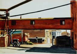 Box Factory (Edward Hopper) - Muzeo.com