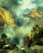 Brouillard dans le canyon (Thomas Moran) - Muzeo.com