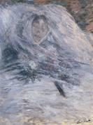 Camille sur son lit de mort (Claude Monet) - Muzeo.com