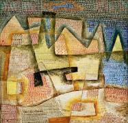 Côte Rocheuse (Paul Klee) - Muzeo.com
