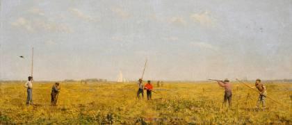Chasse aux Rallidés (Thomas Eakins) - Muzeo.com