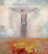Christ en croix (Redon Odilon) - Muzeo.com