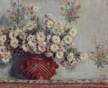 Chrysanthèmes (Monet Claude) - Muzeo.com