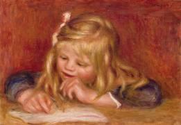 Coco lisant (Auguste Renoir) - Muzeo.com
