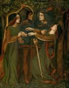 Comment ils se sont rencontrés (Rossetti Dante Gabriel) - Muzeo.com