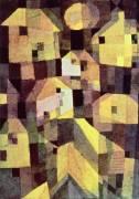 Composition de maisons abstraites (Paul Klee) - Muzeo.com