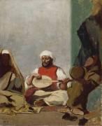 Copie d'aprés la noce Juive de Delacroix (Odilon Redon) - Muzeo.com