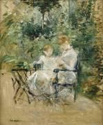 Dans le Jardin (Berthe Morisot) - Muzeo.com