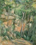 Dans le parc de Château-Noir (Cézanne Paul) - Muzeo.com