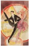 Dans le Vaudeville : deux danseurs (Charles Demuth) - Muzeo.com