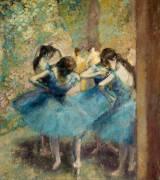 Danseuses bleues (Edgar Degas) - Muzeo.com
