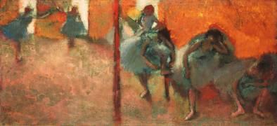 Danseuses dans un studio (Edgar Degas) - Muzeo.com