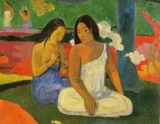 Détail d''Arearea (Joyeusetes) (Paul Gauguin) - Muzeo.com