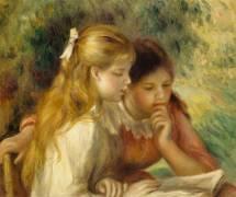 Détail de La Lecture (Auguste Renoir) - Muzeo.com