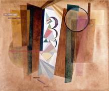 Développement en brun (Wassily Kandinsky) - Muzeo.com