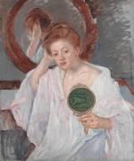 Denise à sa Coiffeuse (Mary Cassatt) - Muzeo.com