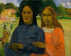 Deux Femmes (Paul Gauguin) - Muzeo.com